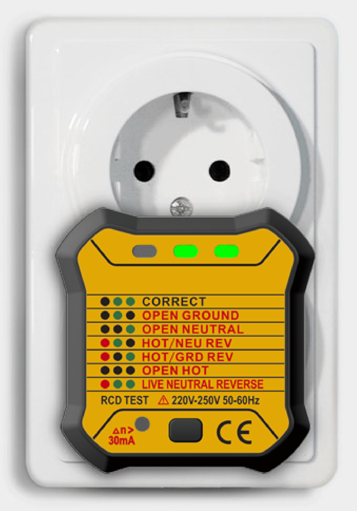 Advanced Tester di prese elettriche