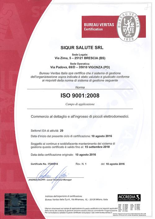 ISO 9001 ita